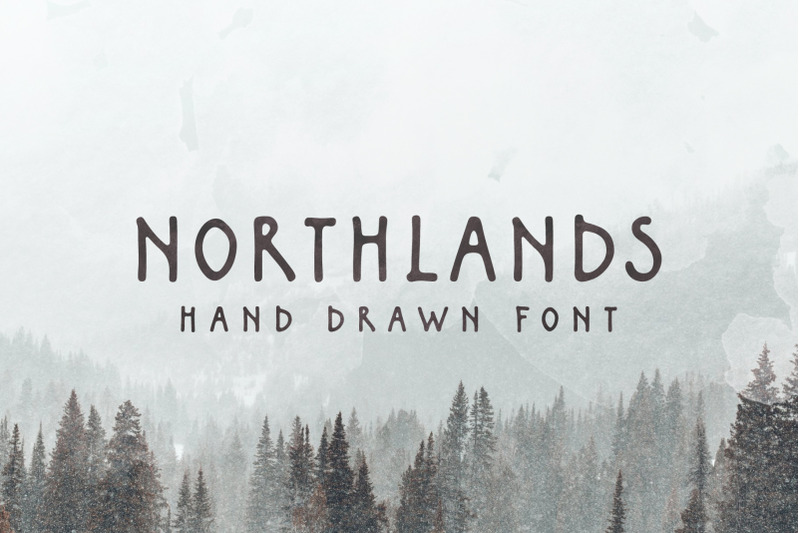 northlands-hand-drawn-font