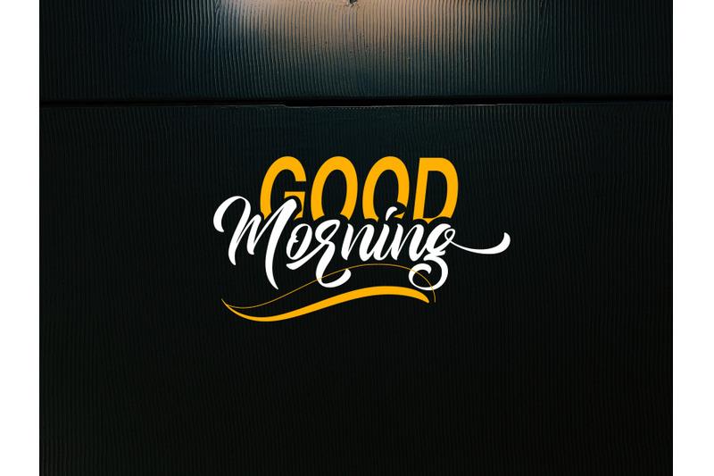 goodmorning-script