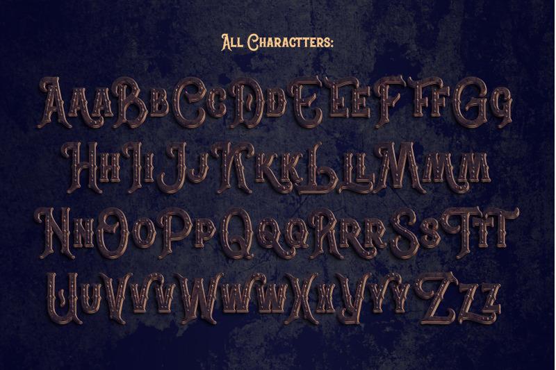 war-lord-psd-alphabet