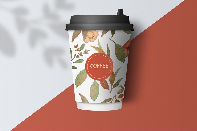 watercolor-floral-set-terracotta-autumn