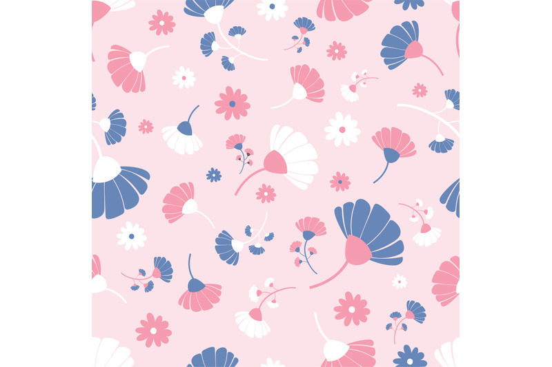 pink-blue-and-white-flowers-seamless-repeating-pattern