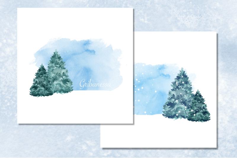 cristmas-tree-watercolor