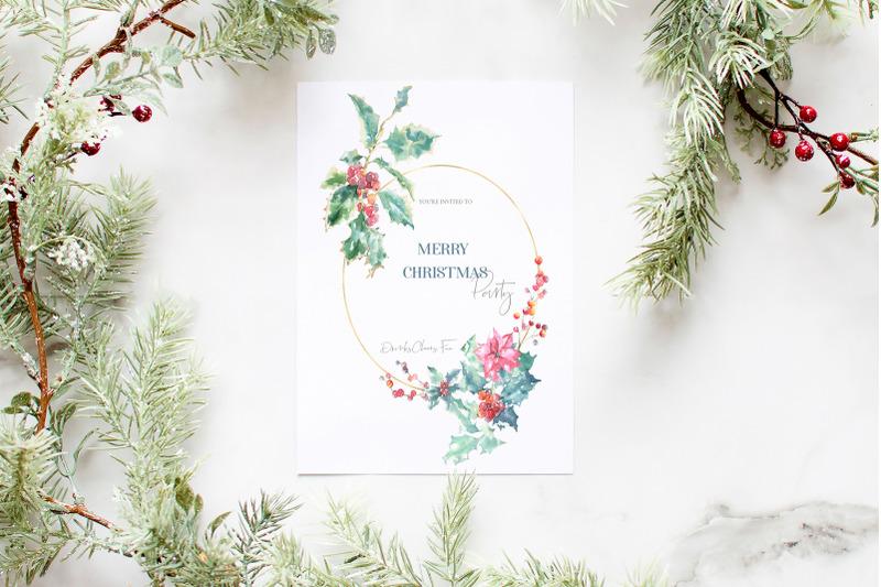 christmas-watercolor-woodland-story