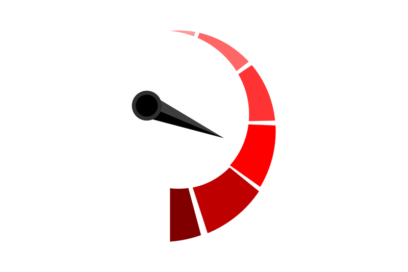 vertical-red-indicator-with-arrow-pointer