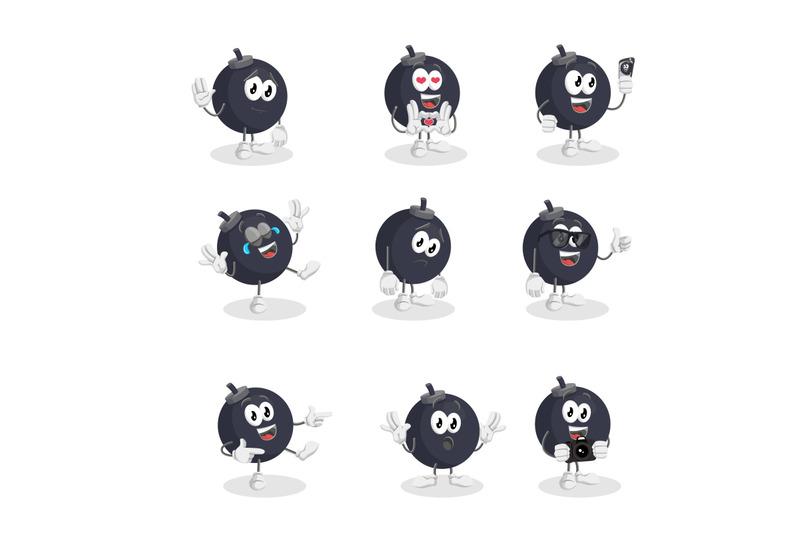 bomb-mascot-logo