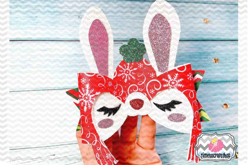 holiday-christmas-bunny-bow-template-winter-hat-bunny-bow
