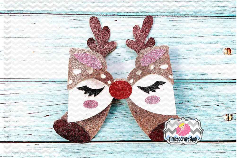 holiday-christmas-deer-eyelashes-bow-template-antlers-bow-reindeer-b