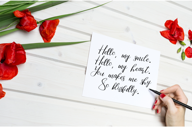 darling-handwritten-font