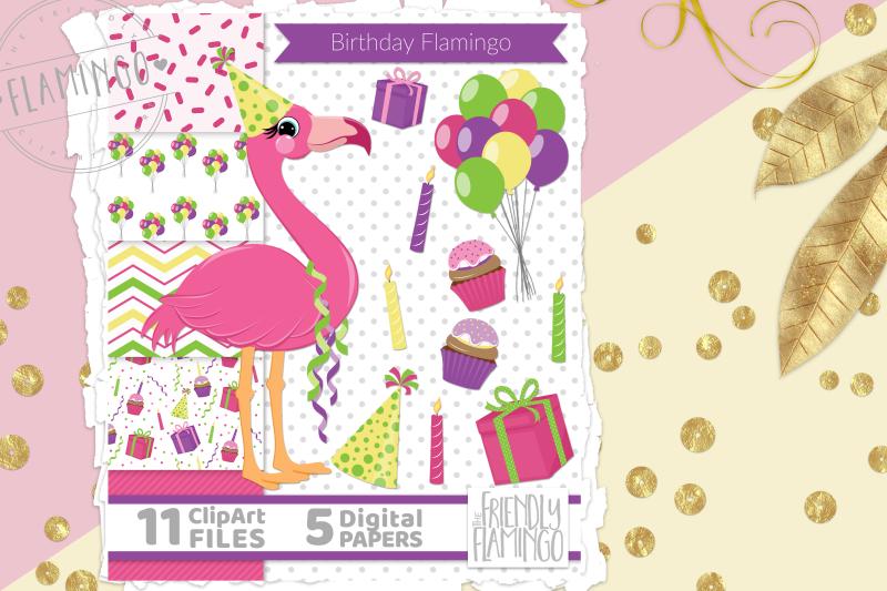 pink-birthday-flamingo