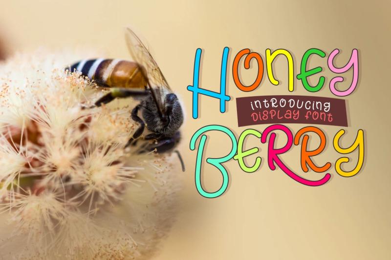 honey-berry-playful-font