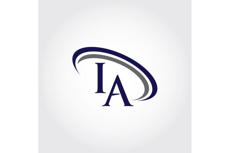 monogram-ia-logo-design