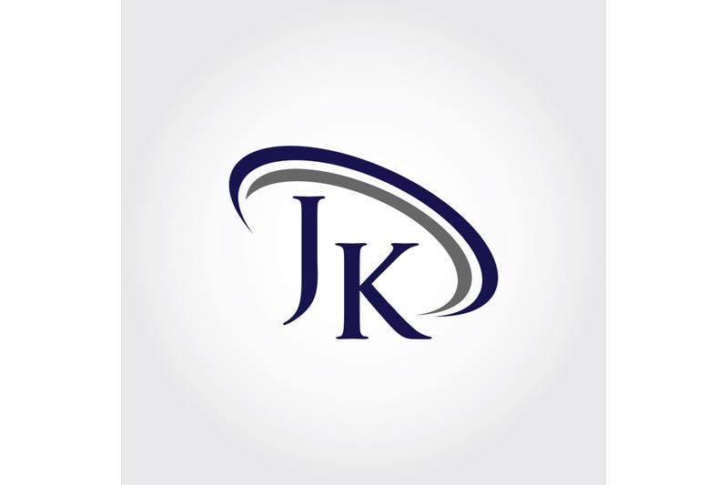 monogram-jk-logo-design