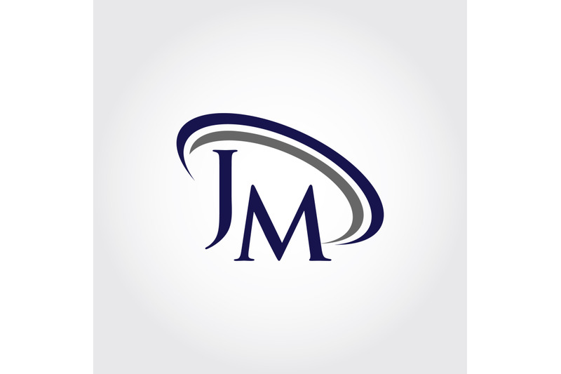 monogram-jm-logo-design