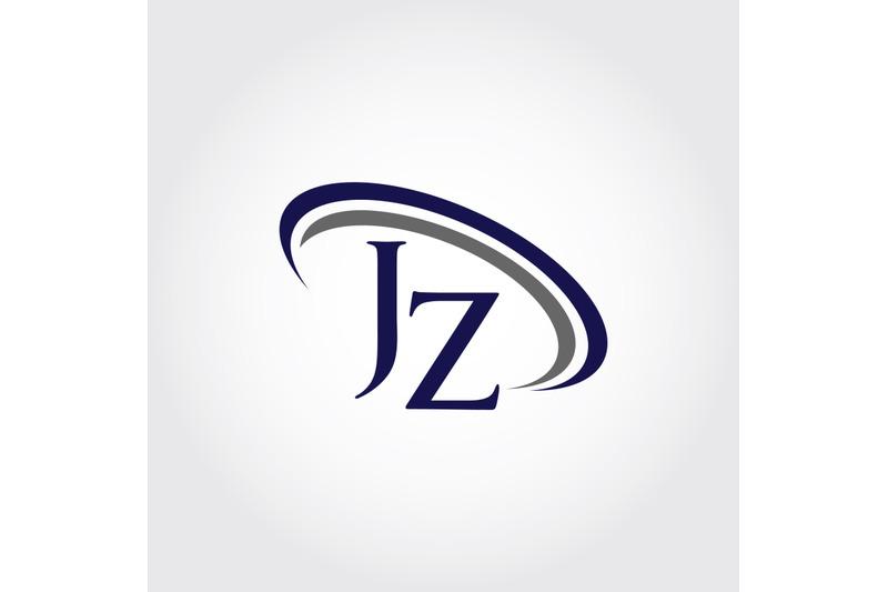 monogram-jz-logo-design