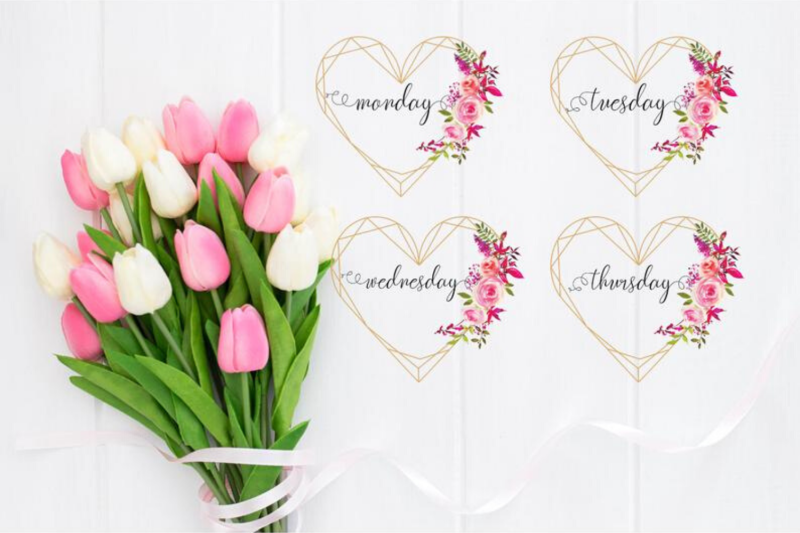 hand-lettered-watercolor-hearts-date-covers-names-of-month-and-weeks