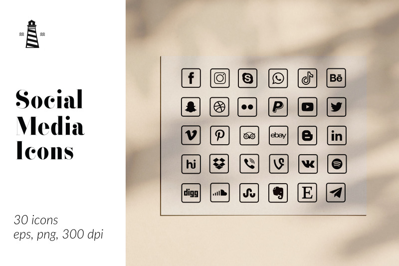 square-social-media-buttons