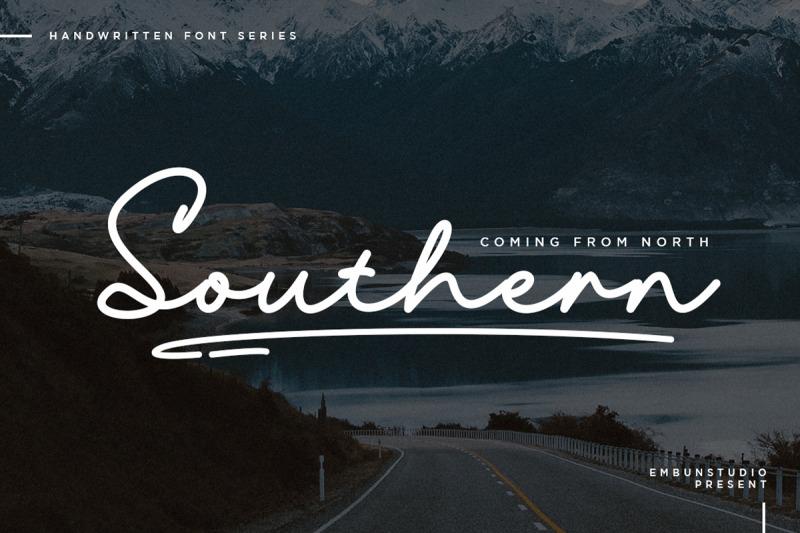 southern-handwritten-font