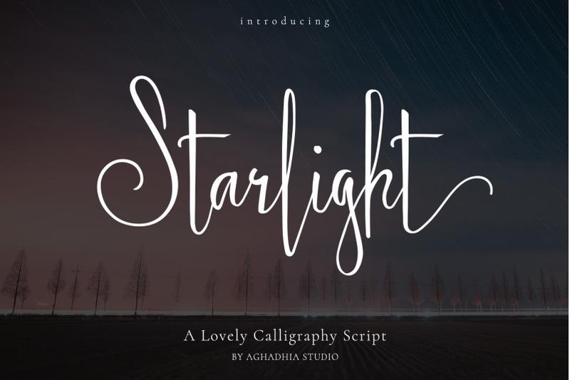 starlight-lovely-calligraphy-font