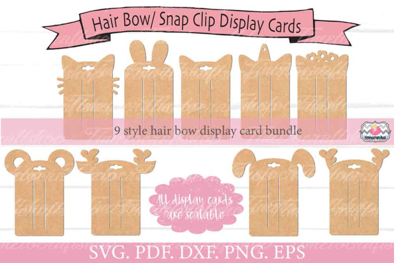 animal-ears-hair-bow-rectangle-snap-clip-display-card-bundle-svg-png