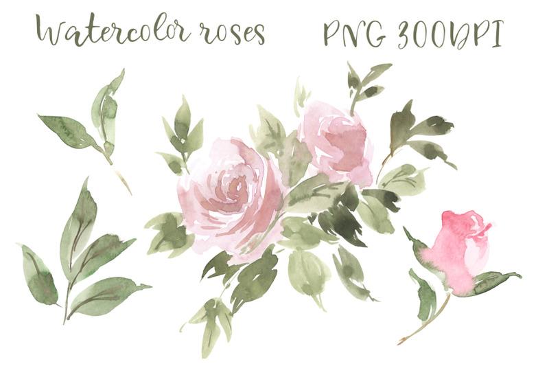 watercolor-roses