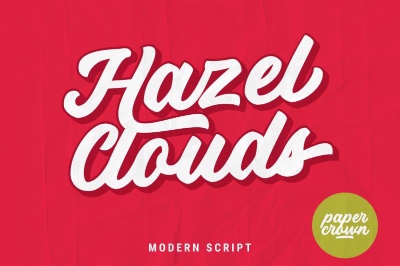 hazel-clouds-modern-script