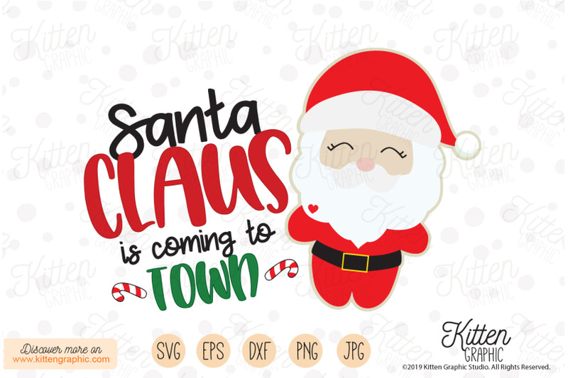 santa-is-coming-to-town