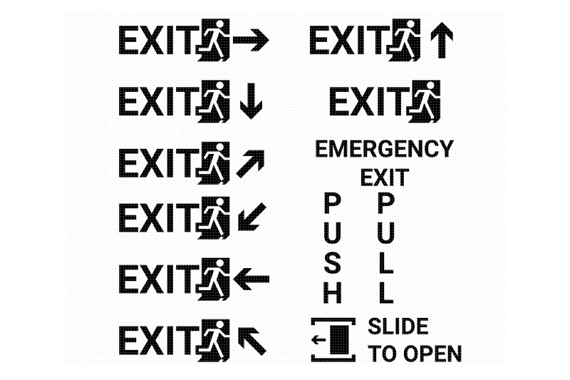 exit-sign-emergency-poster-svg-dxf-png-eps-cricut-silhouette