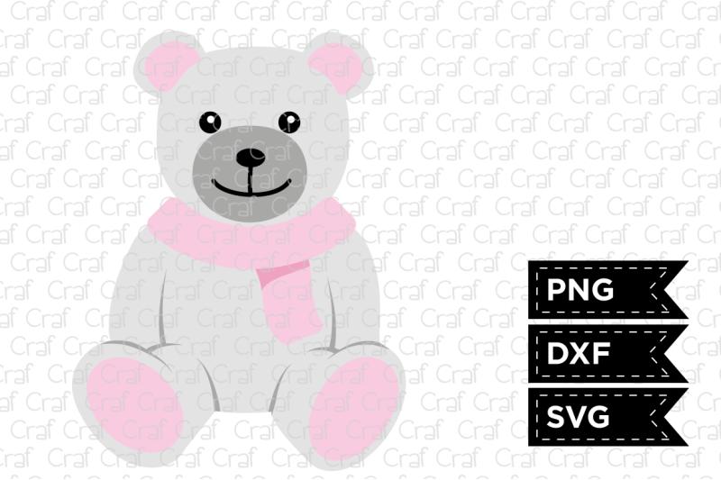 lovely-teddy-bear-with-a-scarf