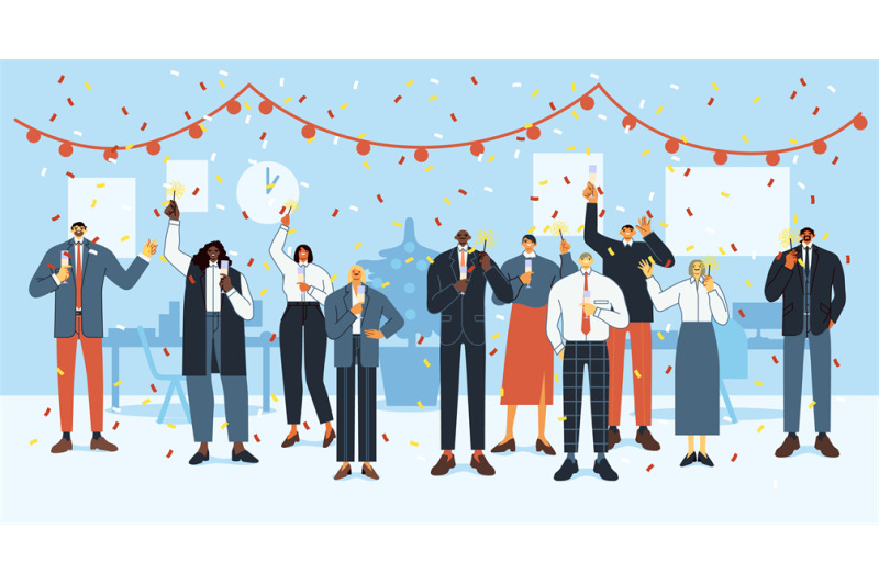 new-year-office-party-happy-employees-celebrate-holidays-business-of