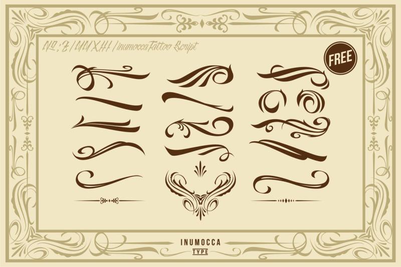 inutattoo-script-poster-vector