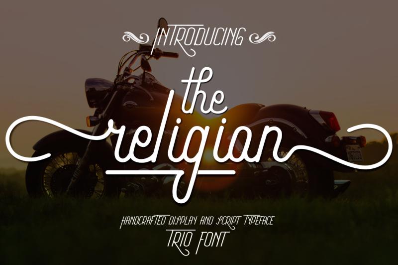 the-religion-trio-font