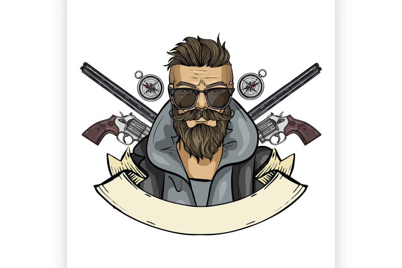 hand-drawn-color-sketch-hunter-man-5
