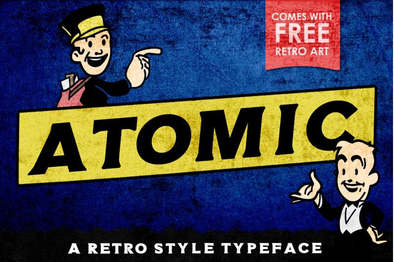 atomic-typeface