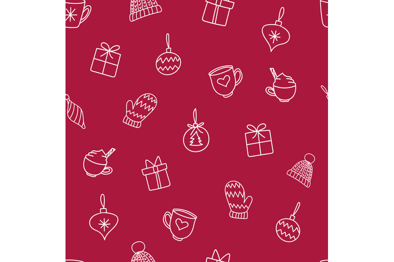 christmas-decorations-doodles-nbsp-seamless-repeating-nbsp-pattern
