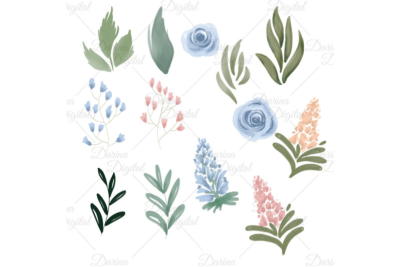 watercolor-single-flowers-clipart