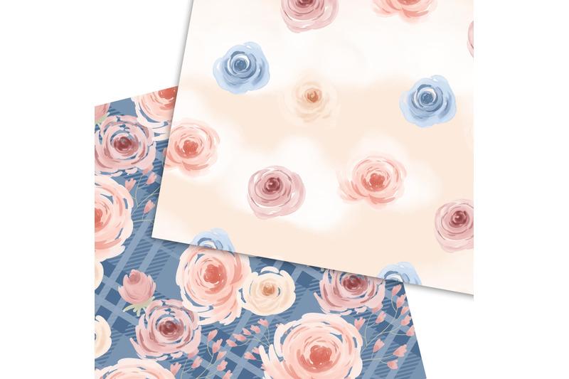 watercolor-flowers-pattern