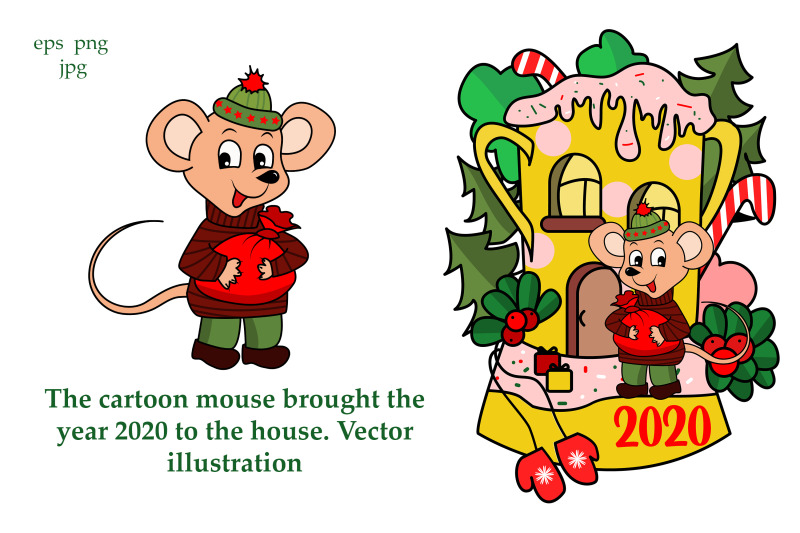 the-cartoon-mouse-brought-the-year-2020-to-the-house