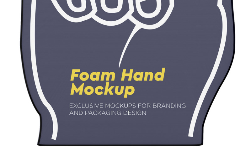 fabric-sports-fan-foam-hand-mockup