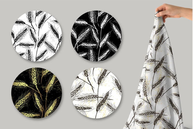 spikelets-pattern-collection