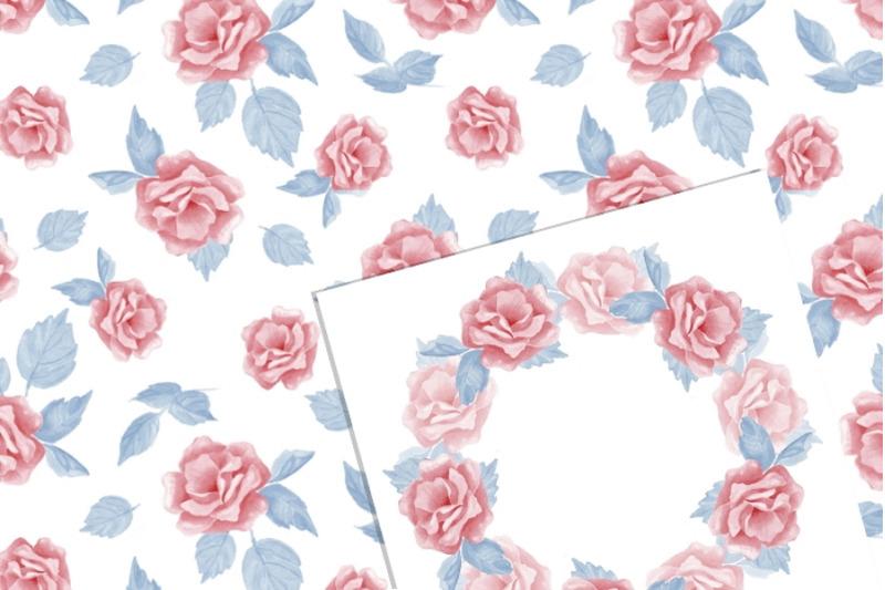 beautiful-flowers-watercolor-set