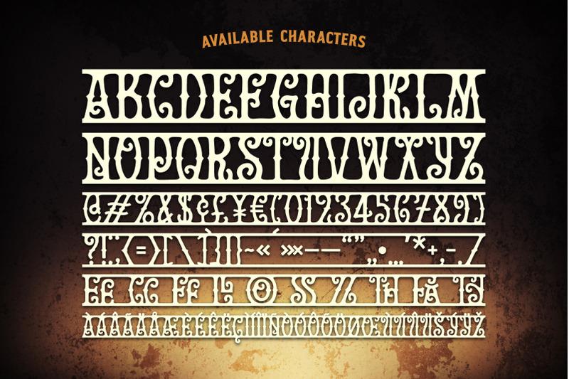 golden-treasure-font-amp-template