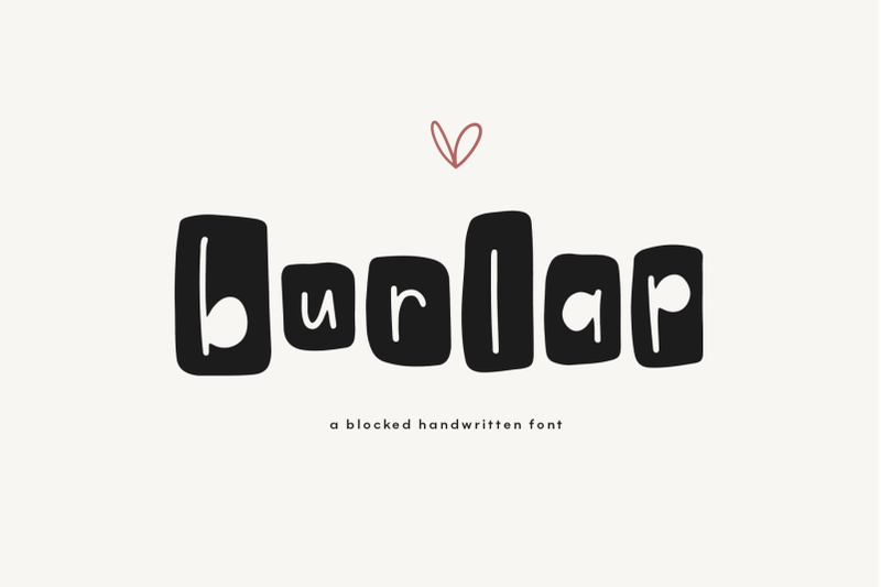 burlap-a-fun-farmhouse-style-font