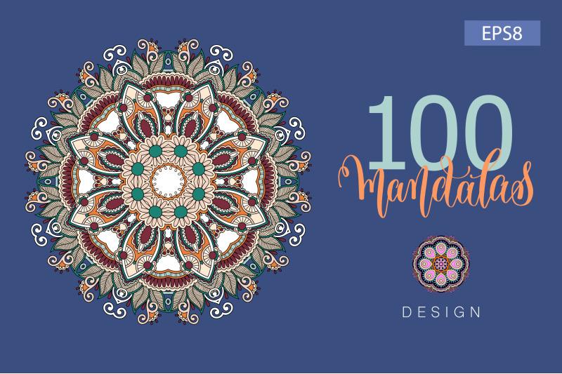 100-mandalas