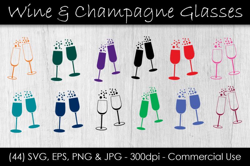 wine-amp-champagne-glass-svg-bundle
