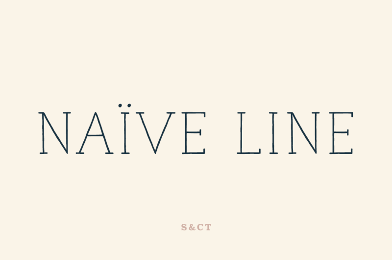 naive-line-font-pack
