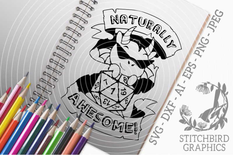 naturally-awesome-dragon-svg-dxf-dungeons-and-dragons-stitchbird