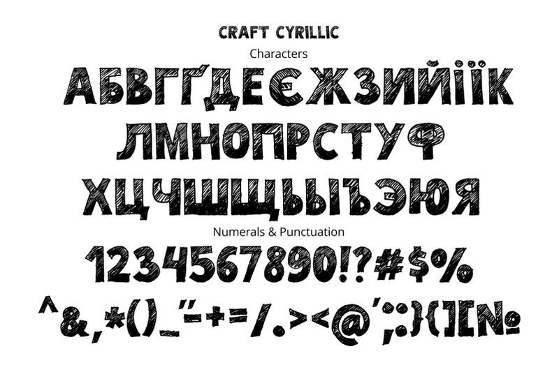 craft-font