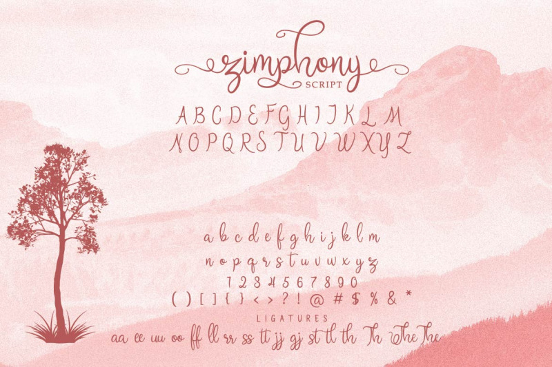 zimphony-font-duo