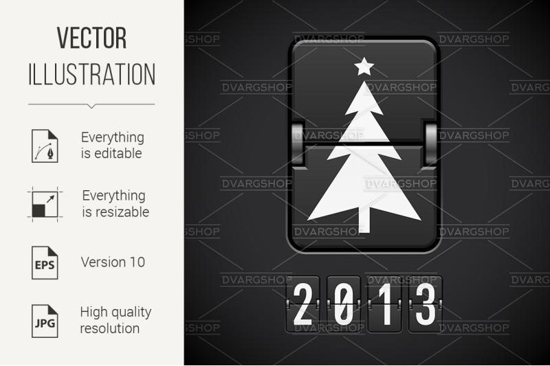 scoreboard-christmas-tree