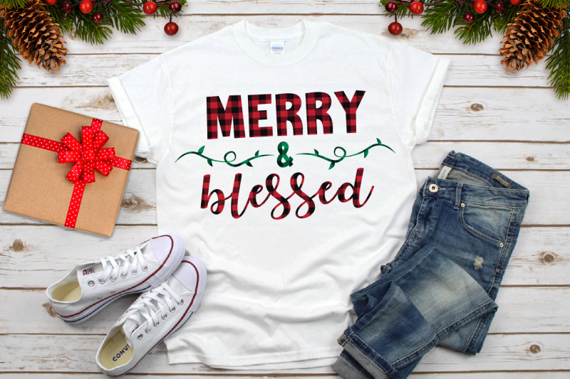 merry-and-blessed-christmas-plaid-svg